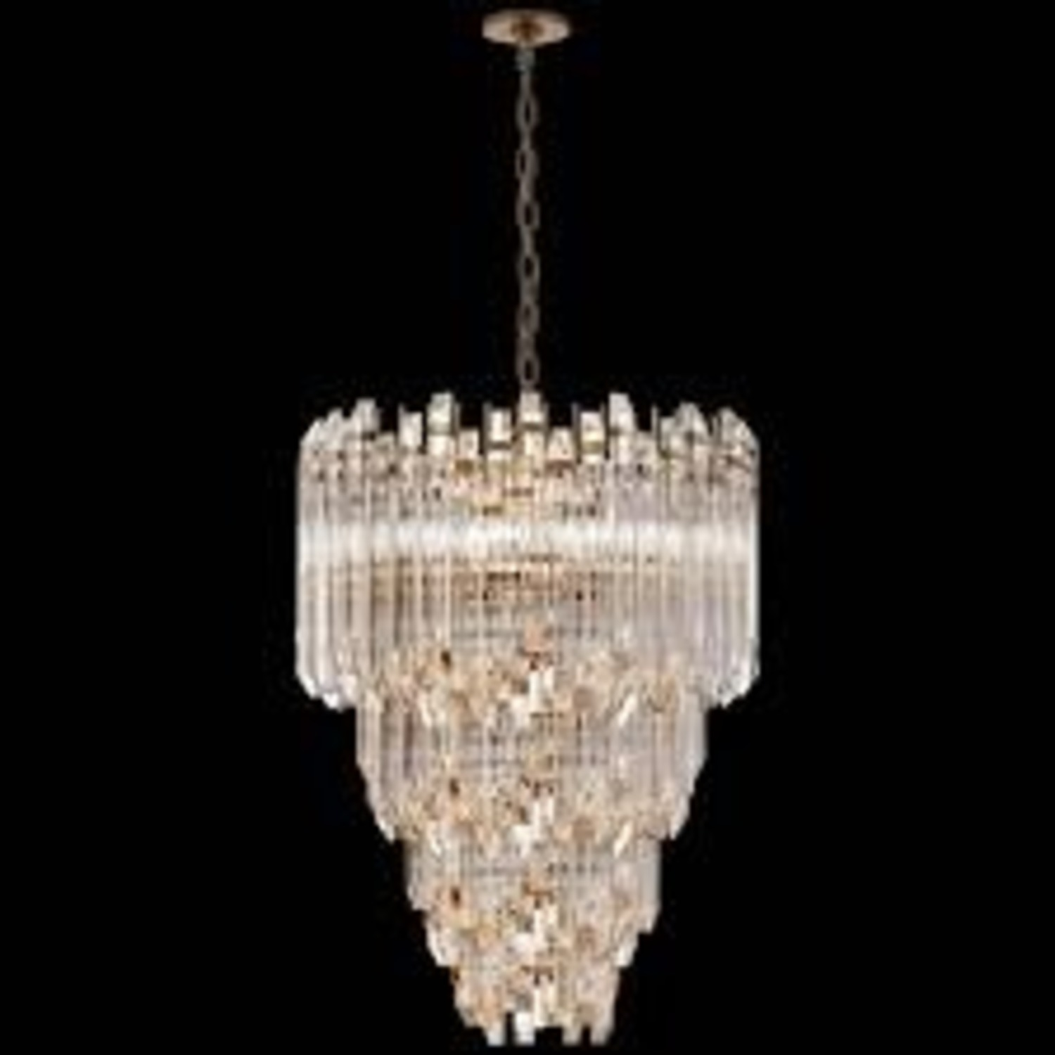Three-Tier Waterfall Chandelier - image-6