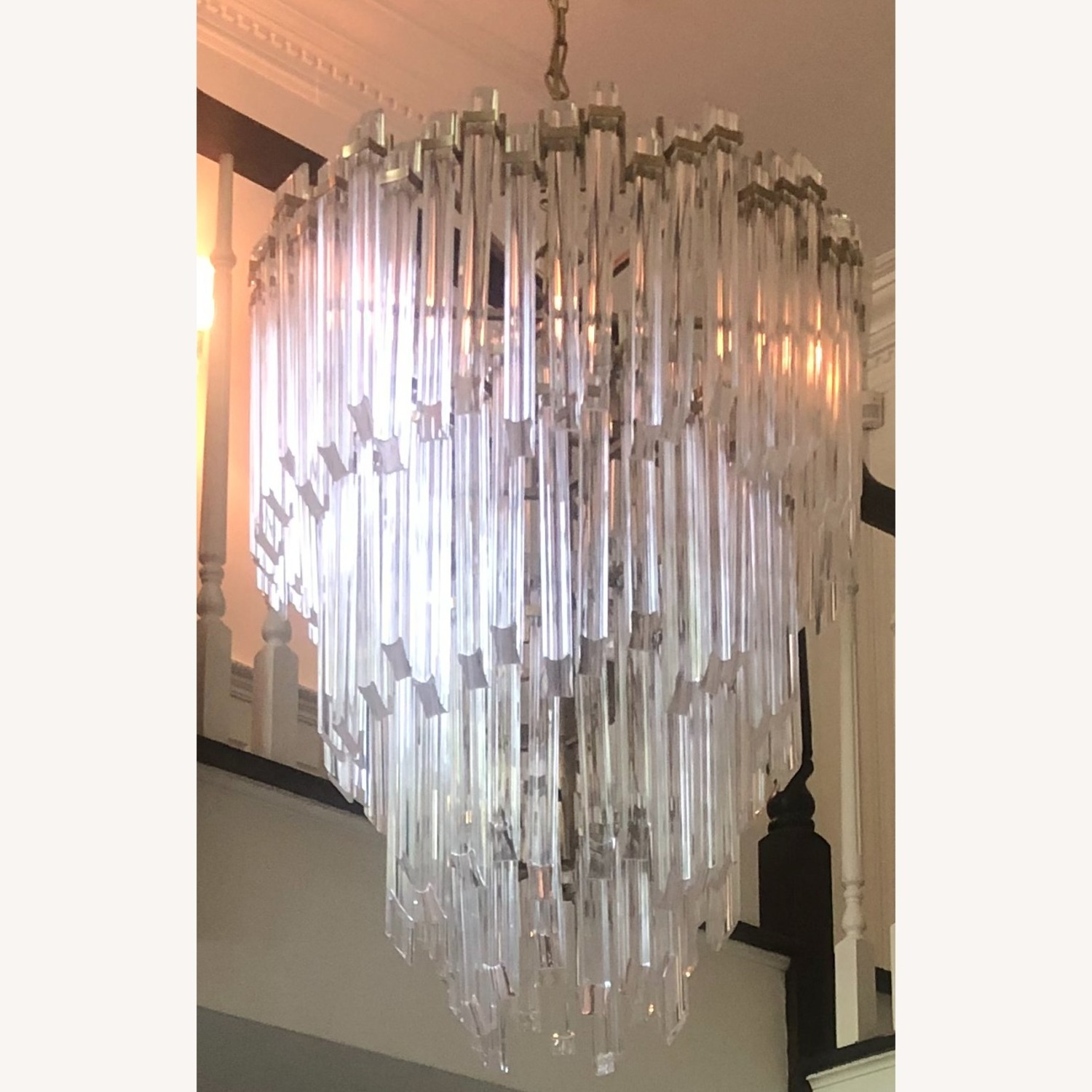 Three-Tier Waterfall Chandelier - image-10