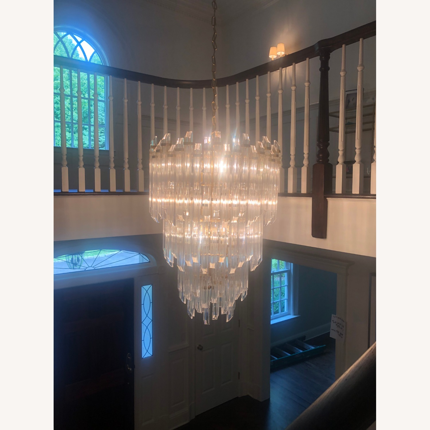 Three-Tier Waterfall Chandelier - image-1