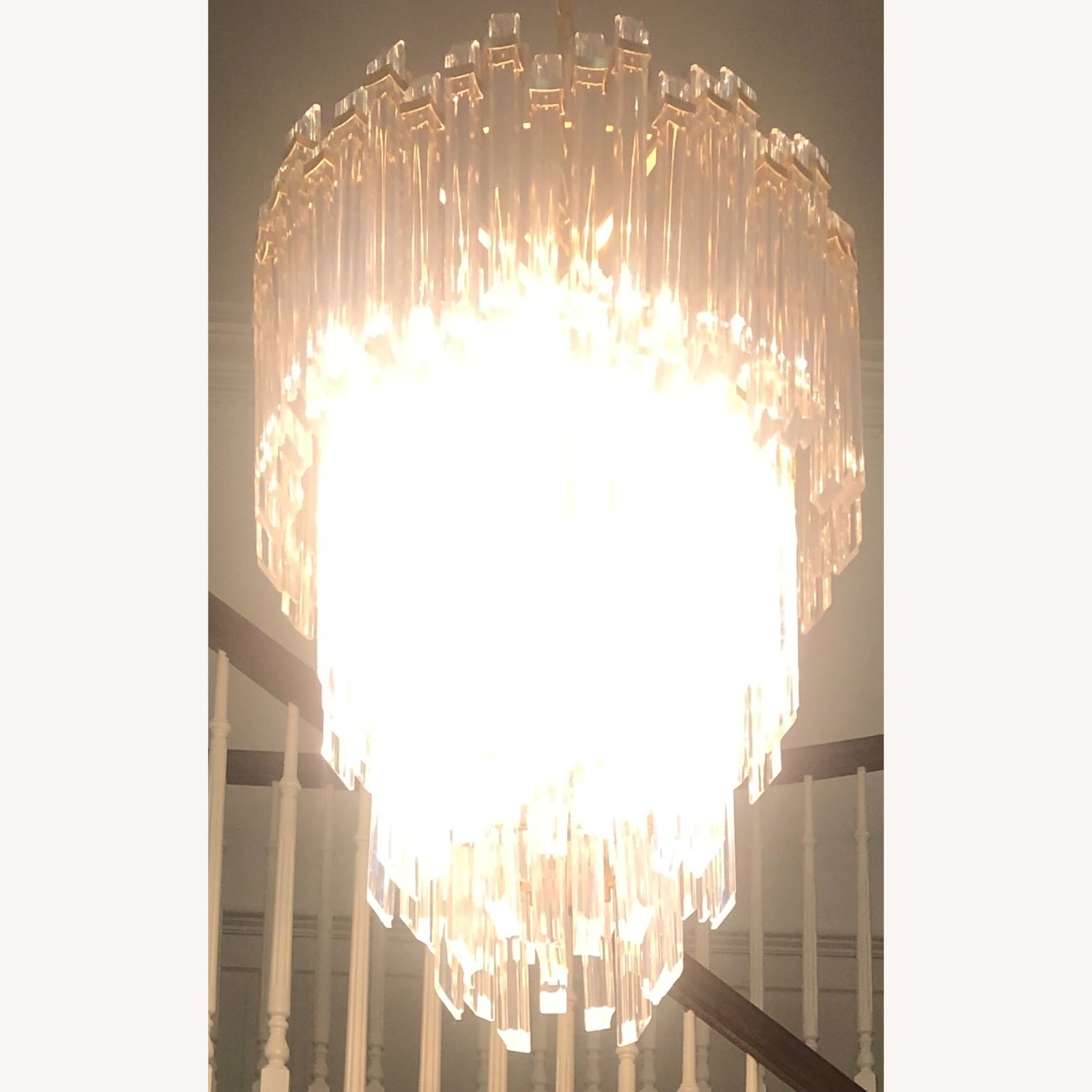 Three-Tier Waterfall Chandelier - image-11