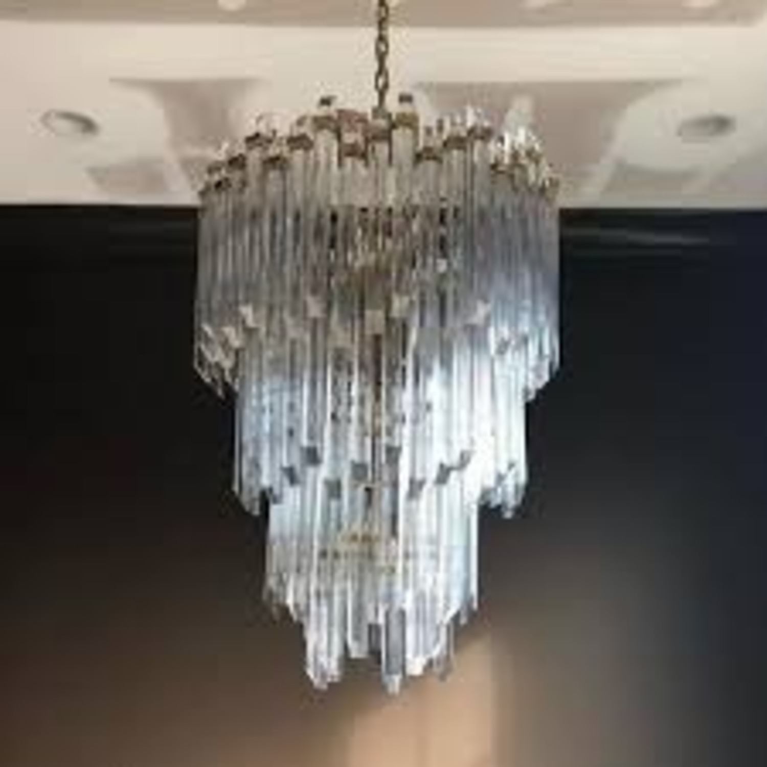 Three-Tier Waterfall Chandelier - image-7