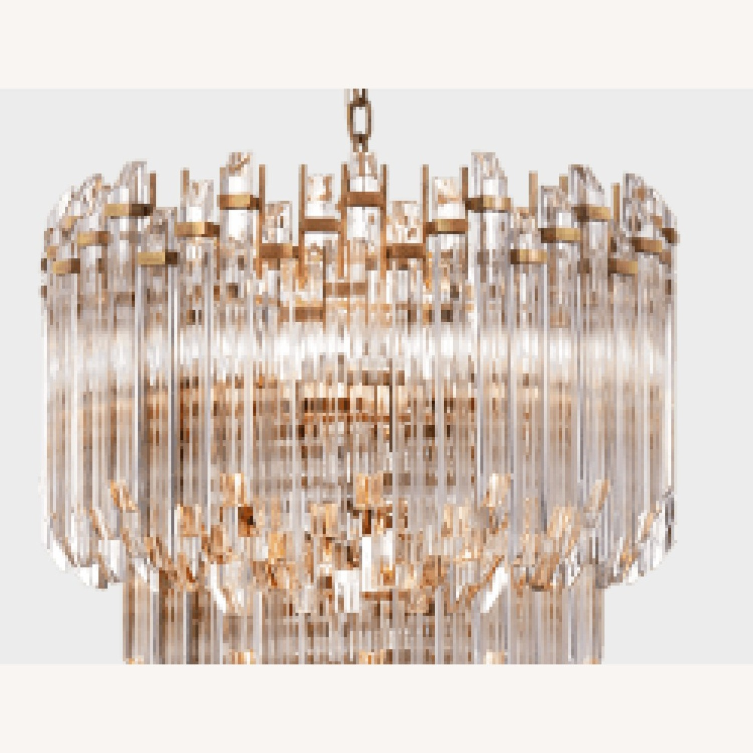 Three-Tier Waterfall Chandelier - image-12