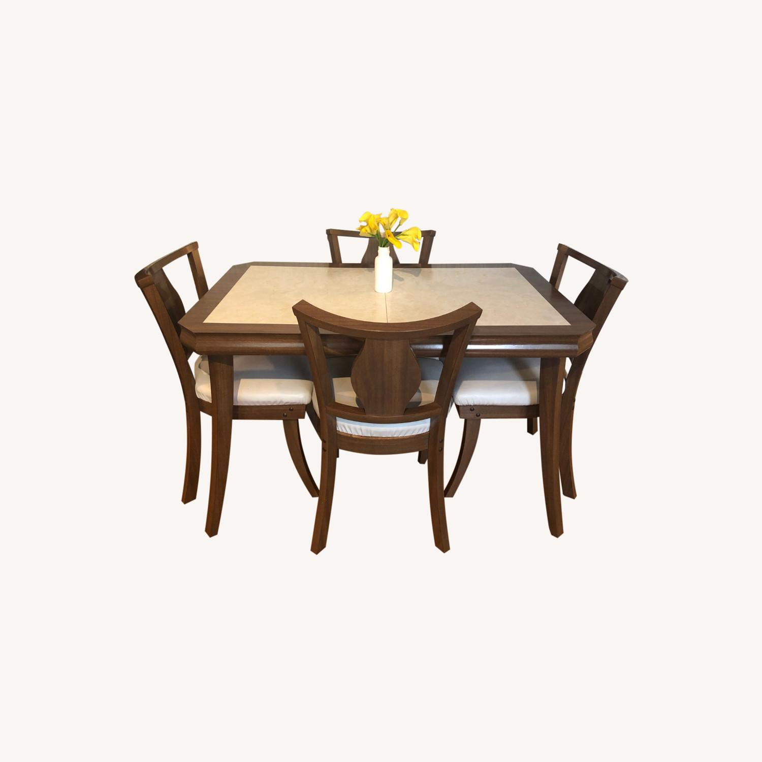 Mid Century Modern Dining Table - image-0