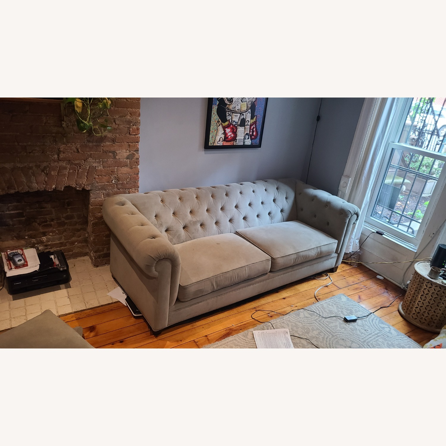 Martha Stewart Gray Saybridge 3 Seater Sofa - image-5