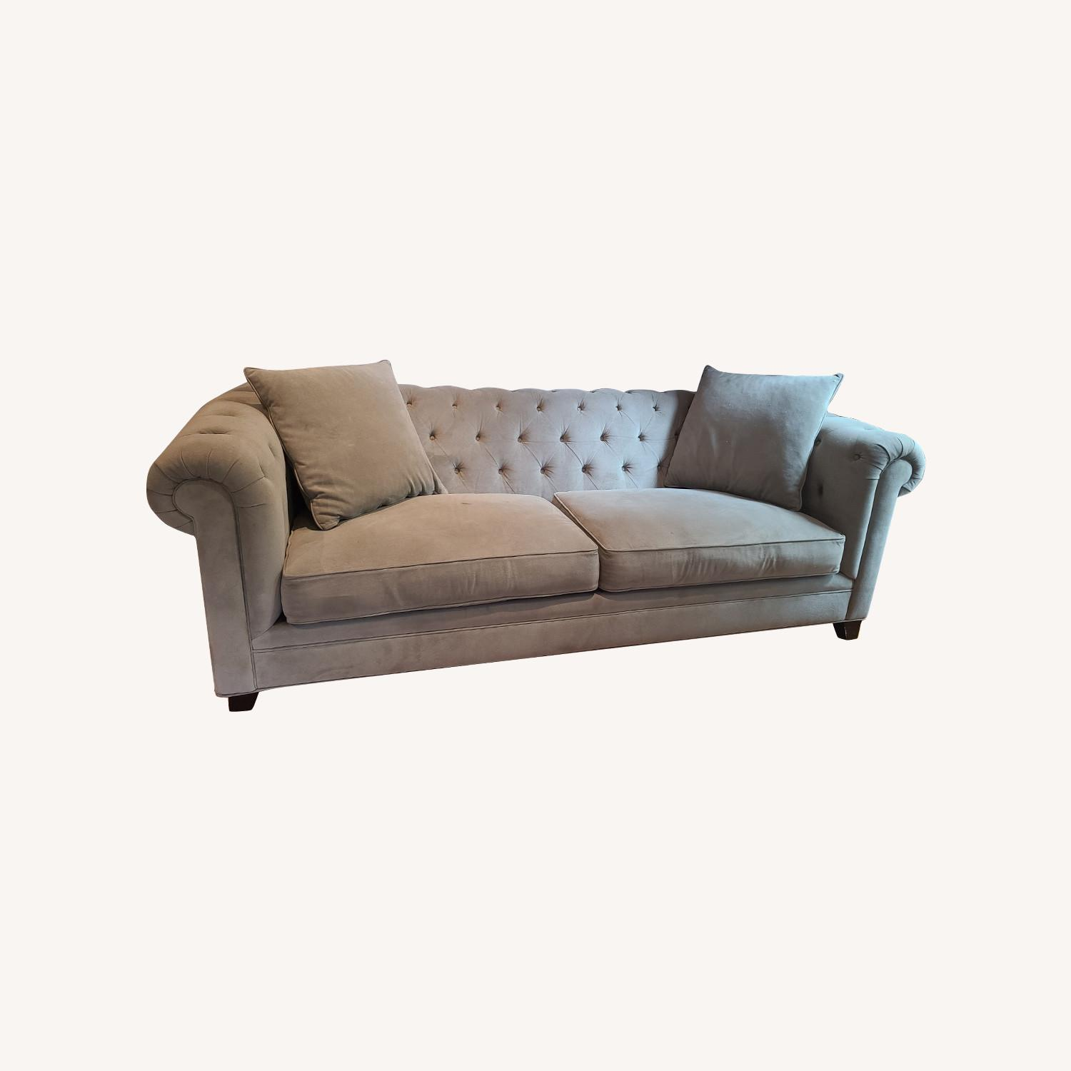 Martha Stewart Gray Saybridge 3 Seater Sofa - image-0