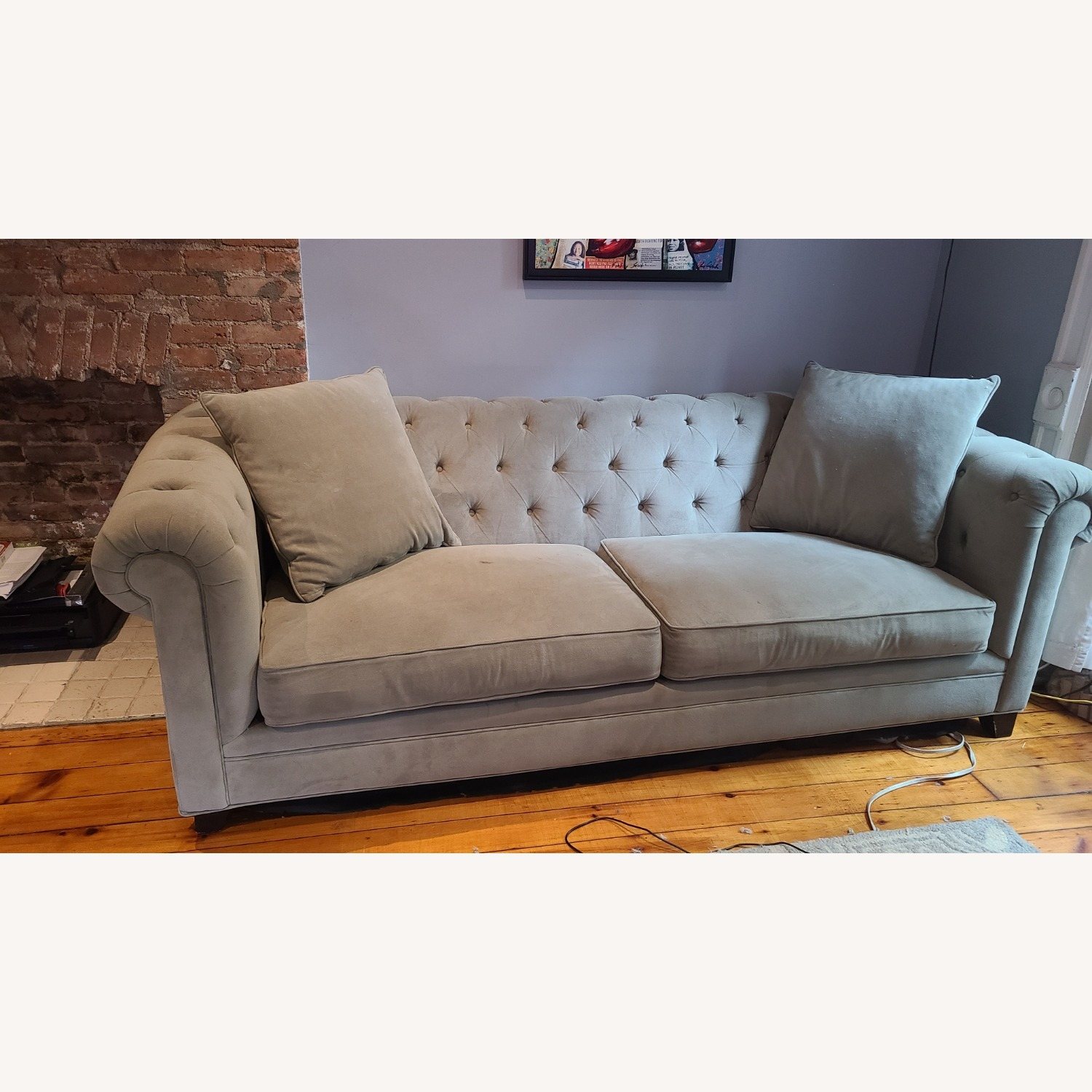 Martha Stewart Gray Saybridge 3 Seater Sofa - image-4