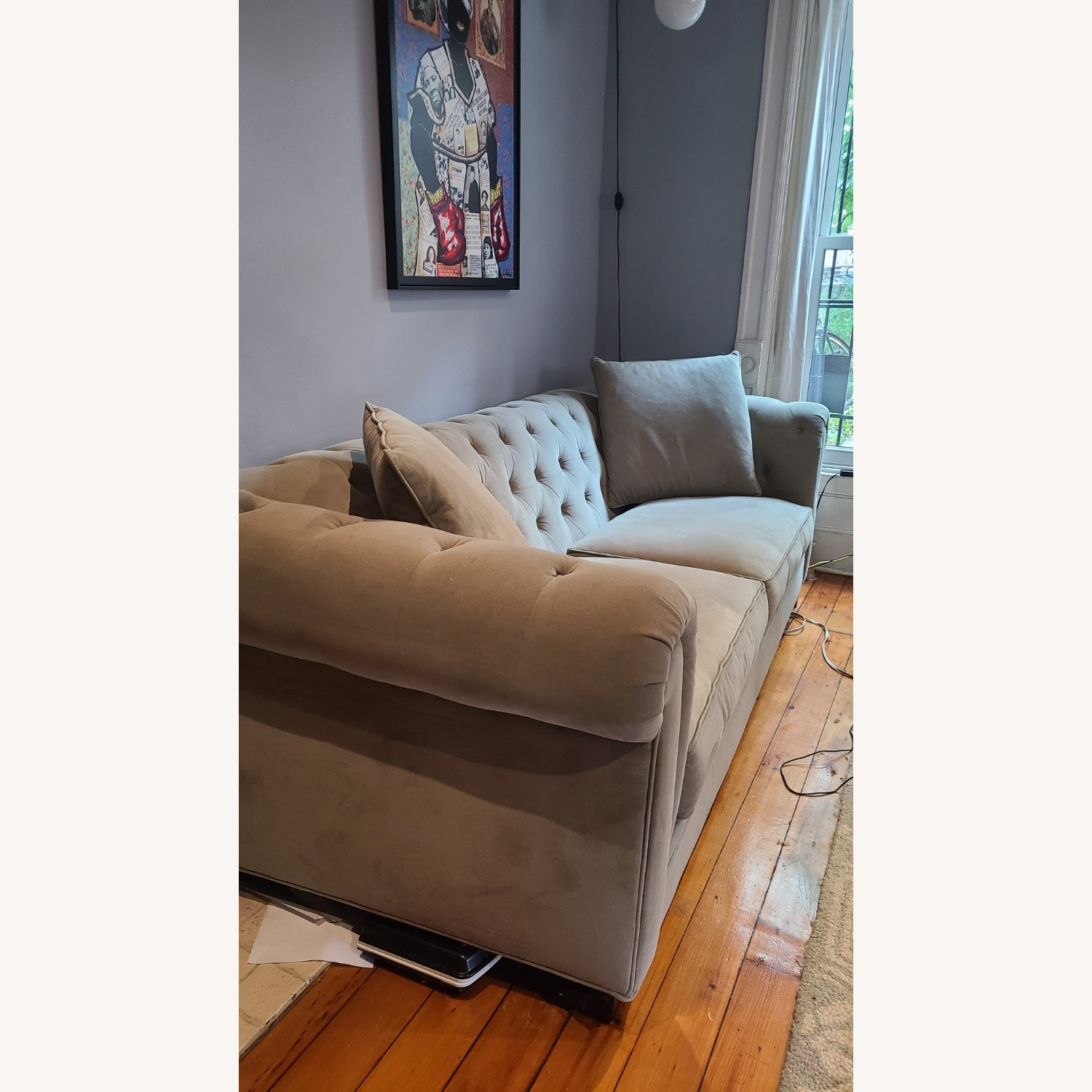Martha Stewart Gray Saybridge 3 Seater Sofa - image-3