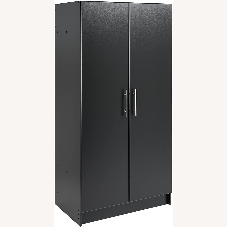 Prepac Manufacturing Black Wardrobe Storage Cabinet - image-2
