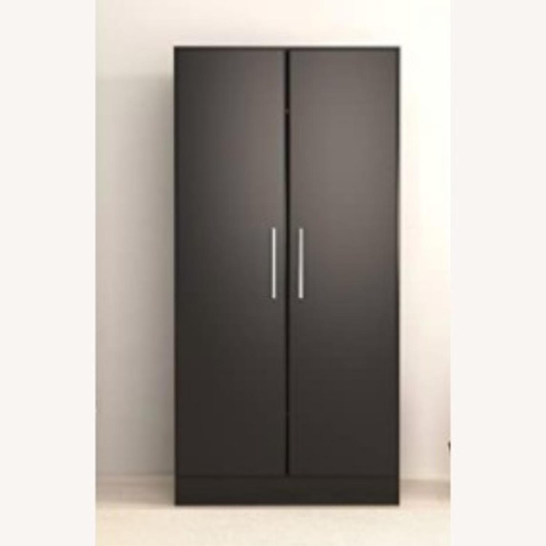 Prepac Manufacturing Black Wardrobe Storage Cabinet - image-4