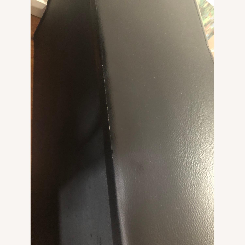 Star International Black Leather Futon & Sleeper Sofa - image-7