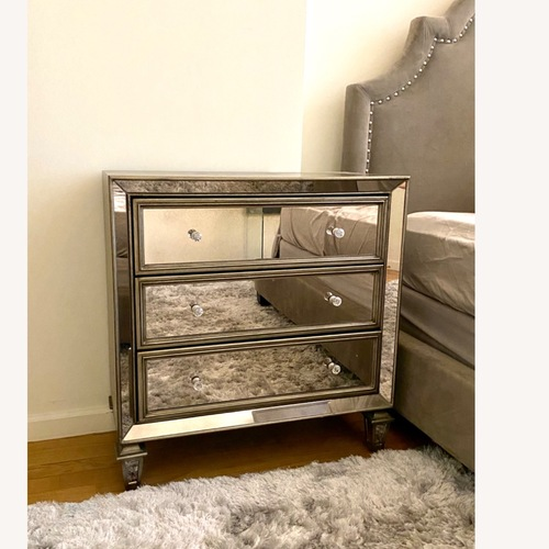 Used Mirrored Chest for sale on AptDeco