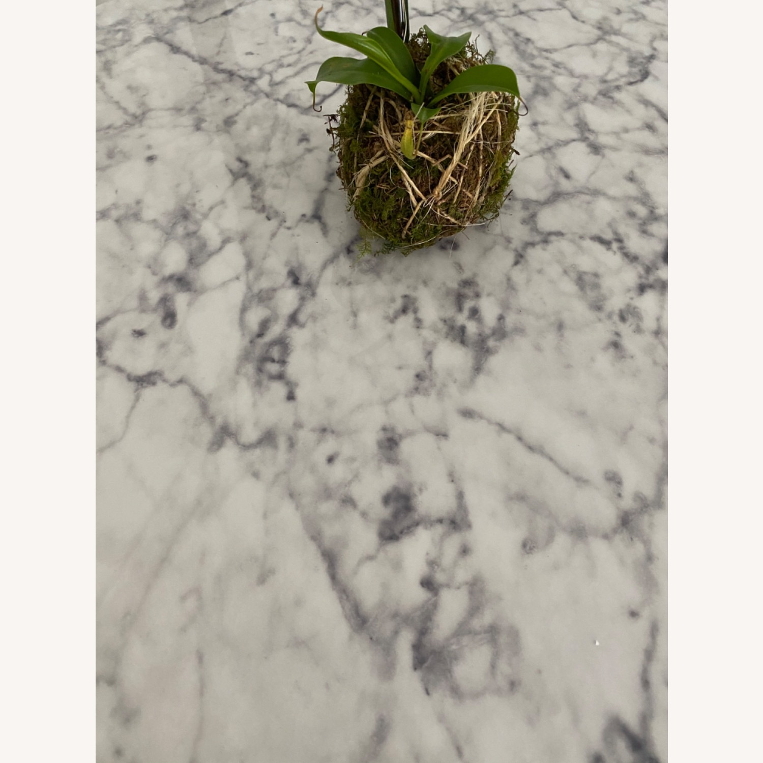 Faux Marble Bistro Table - image-3