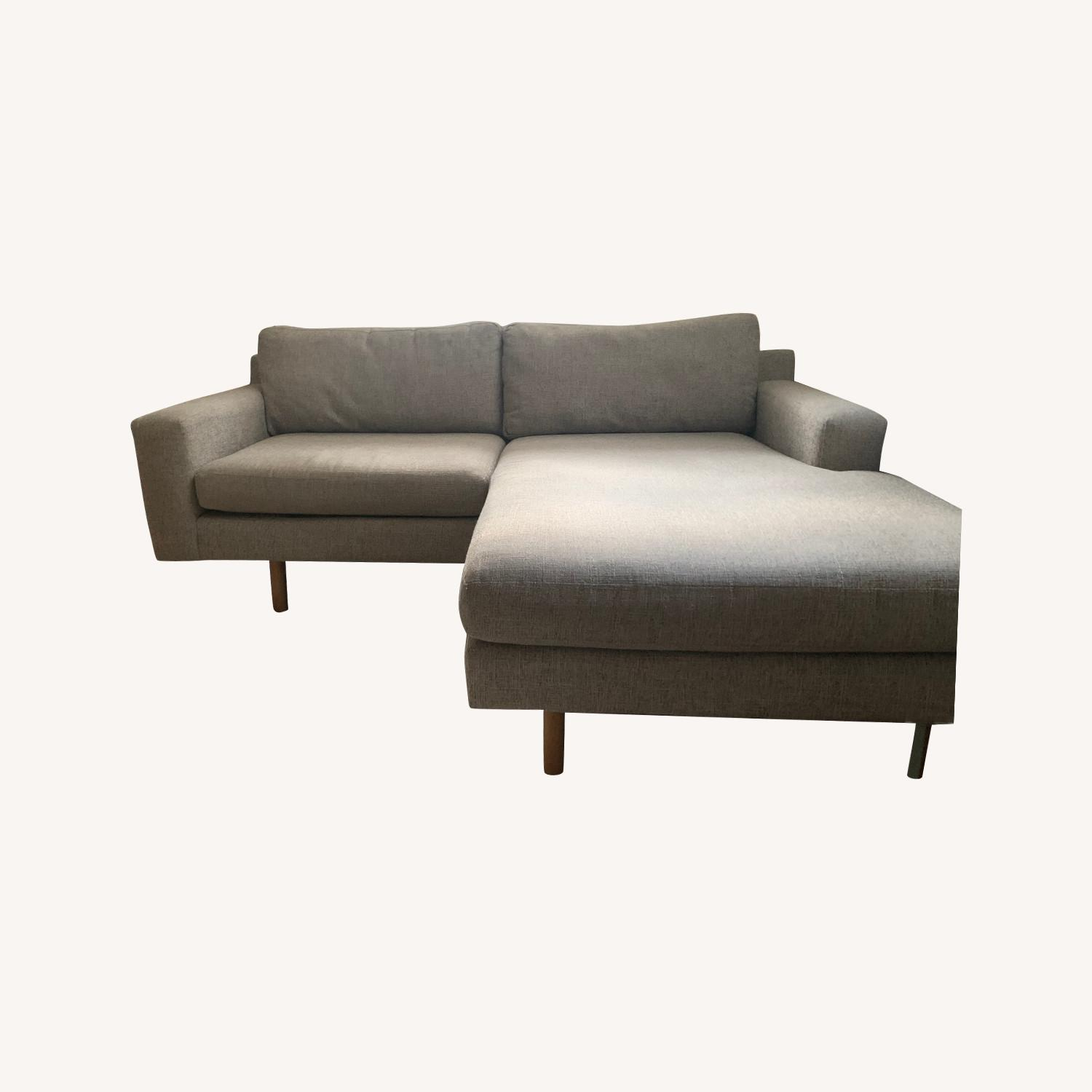 West Elm Eddy Reversible Sectional - image-0