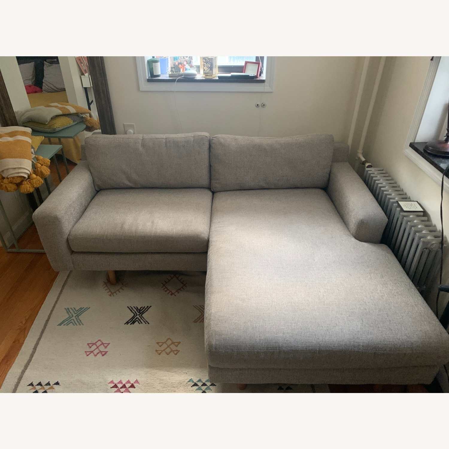 West Elm Eddy Reversible Sectional - image-3