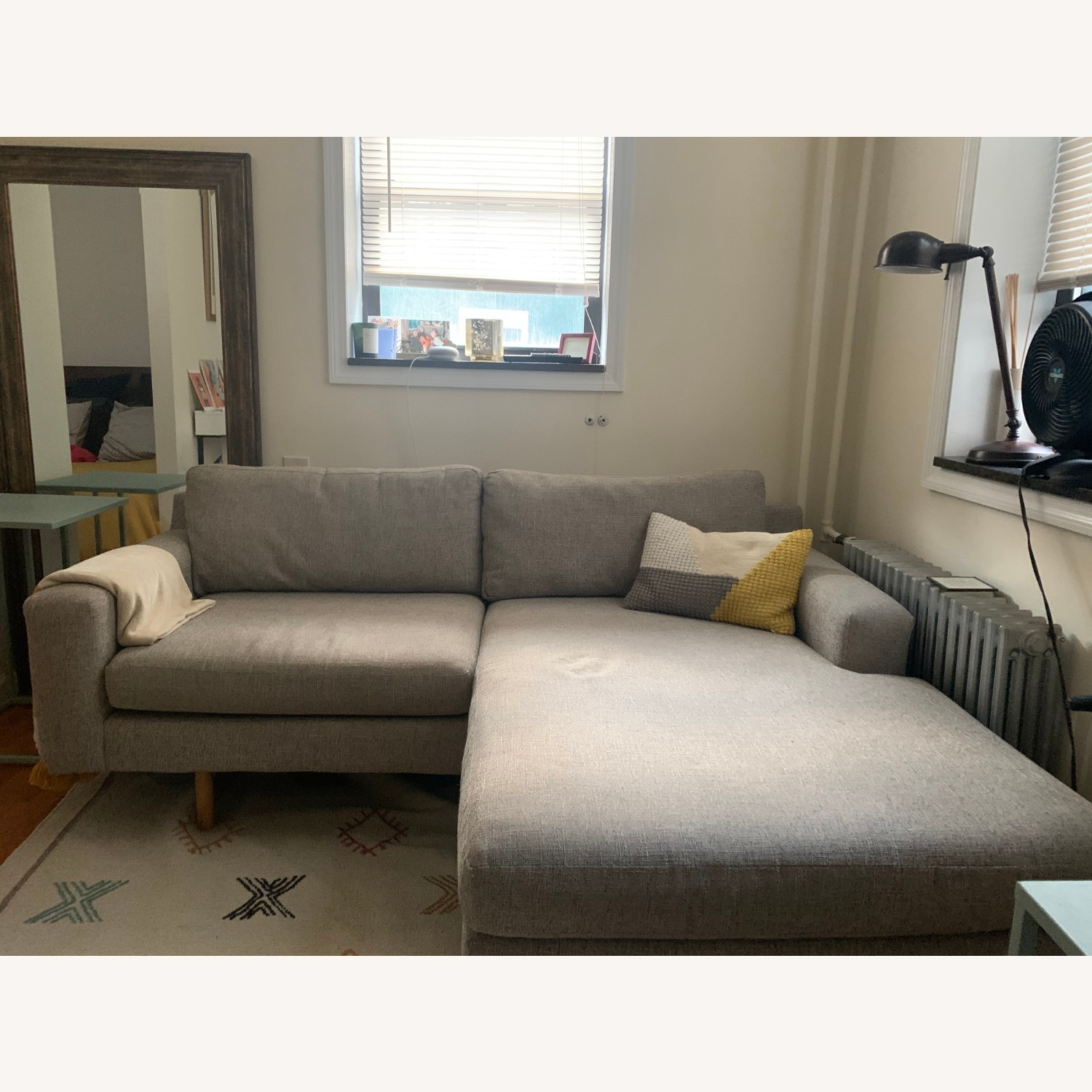 West Elm Eddy Reversible Sectional - image-2