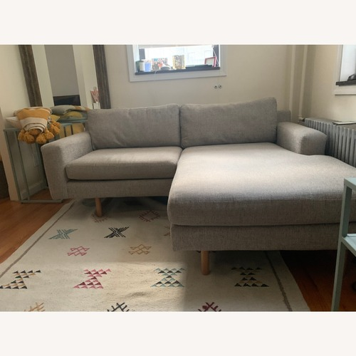 Used West Elm Eddy Reversible Sectional for sale on AptDeco