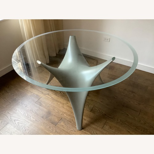 Used Molteni Arc Dining Table - Grey for sale on AptDeco