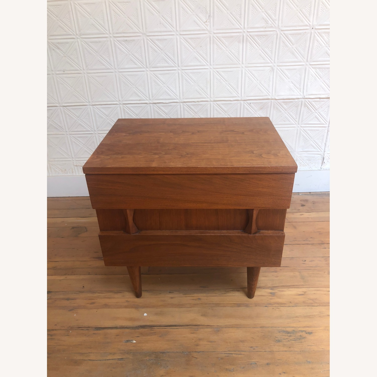 Mid Century Two Drawer Nightstand by Martinsville - image-2