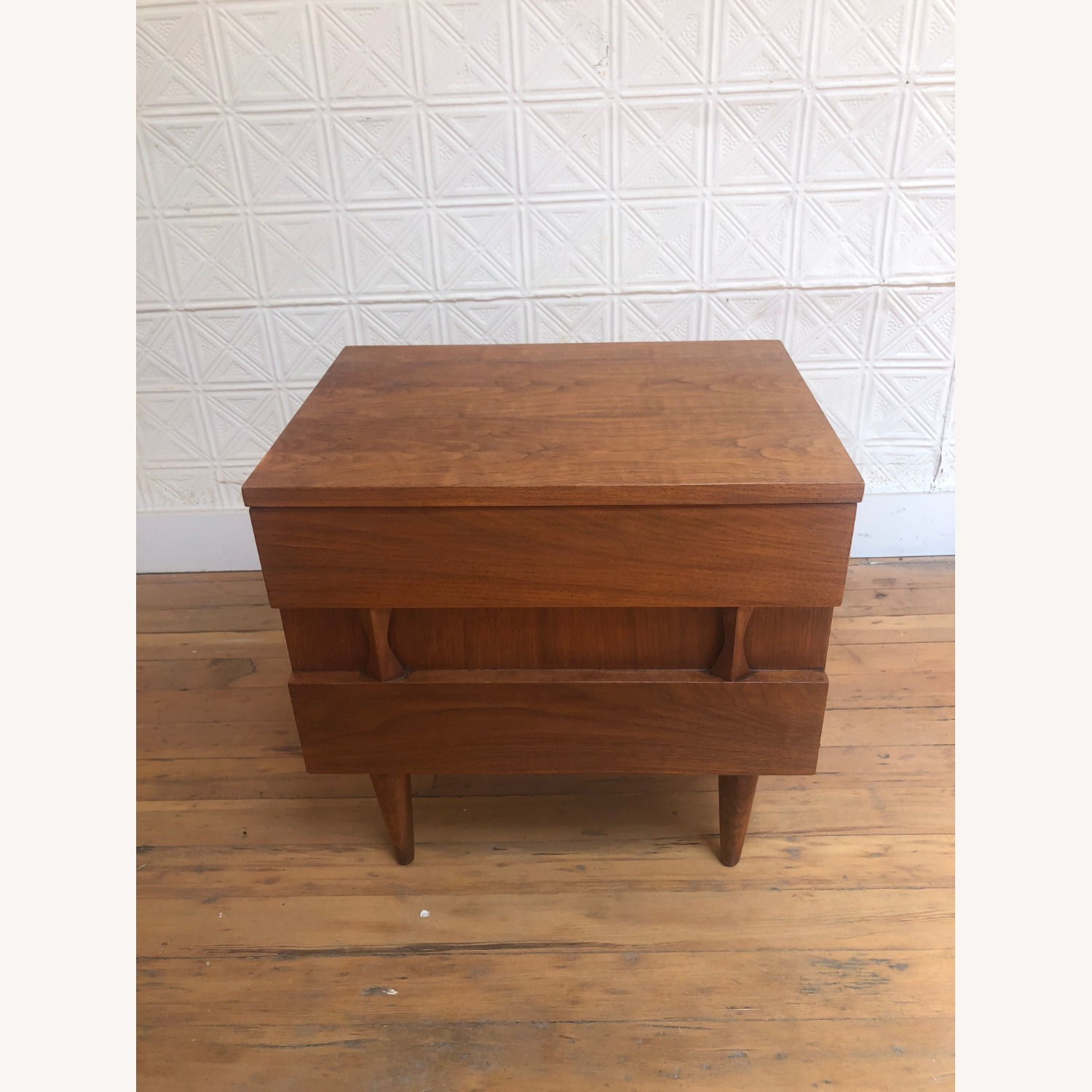 Mid Century Two Drawer Nightstand by Martinsville - image-3