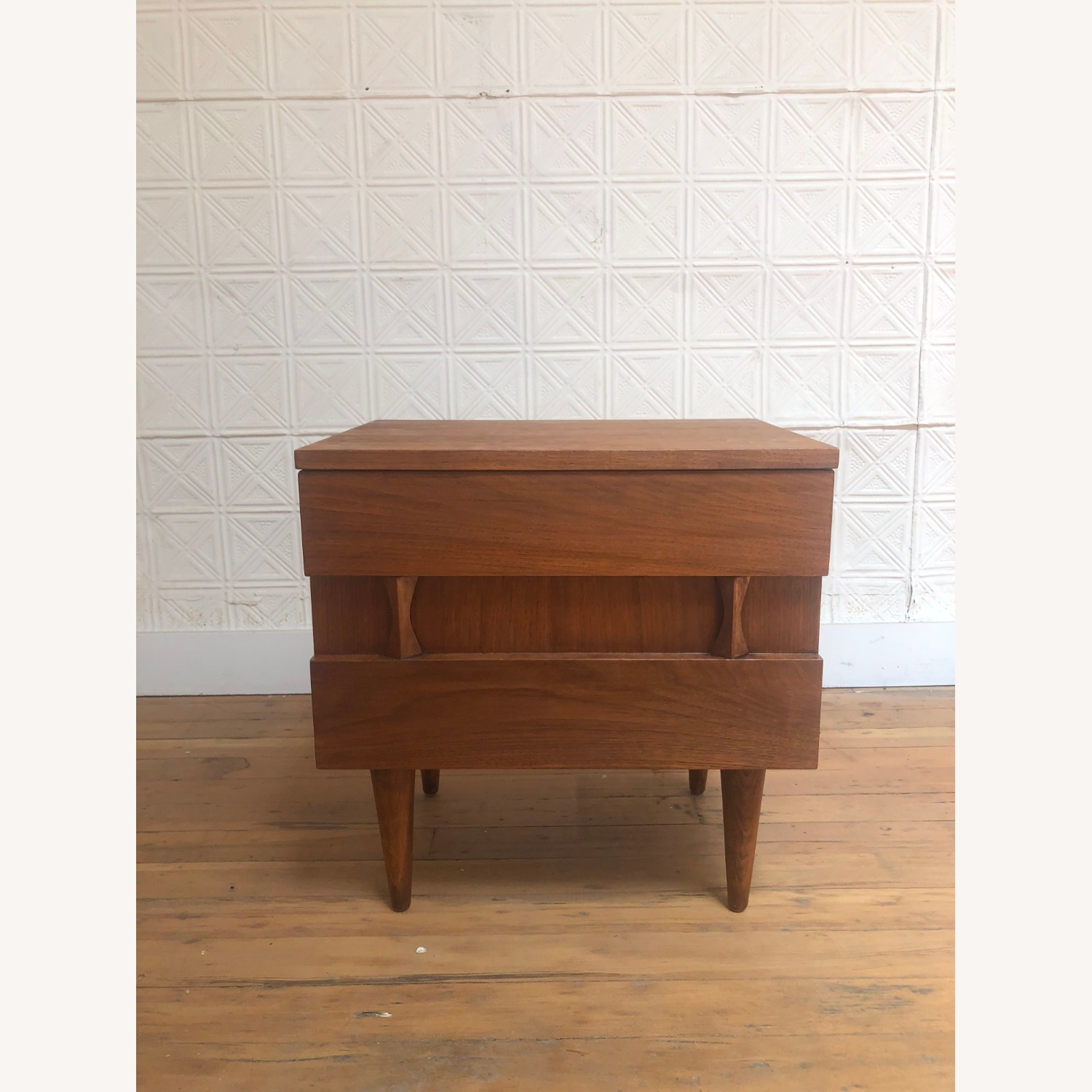 Mid Century Two Drawer Nightstand by Martinsville - image-13