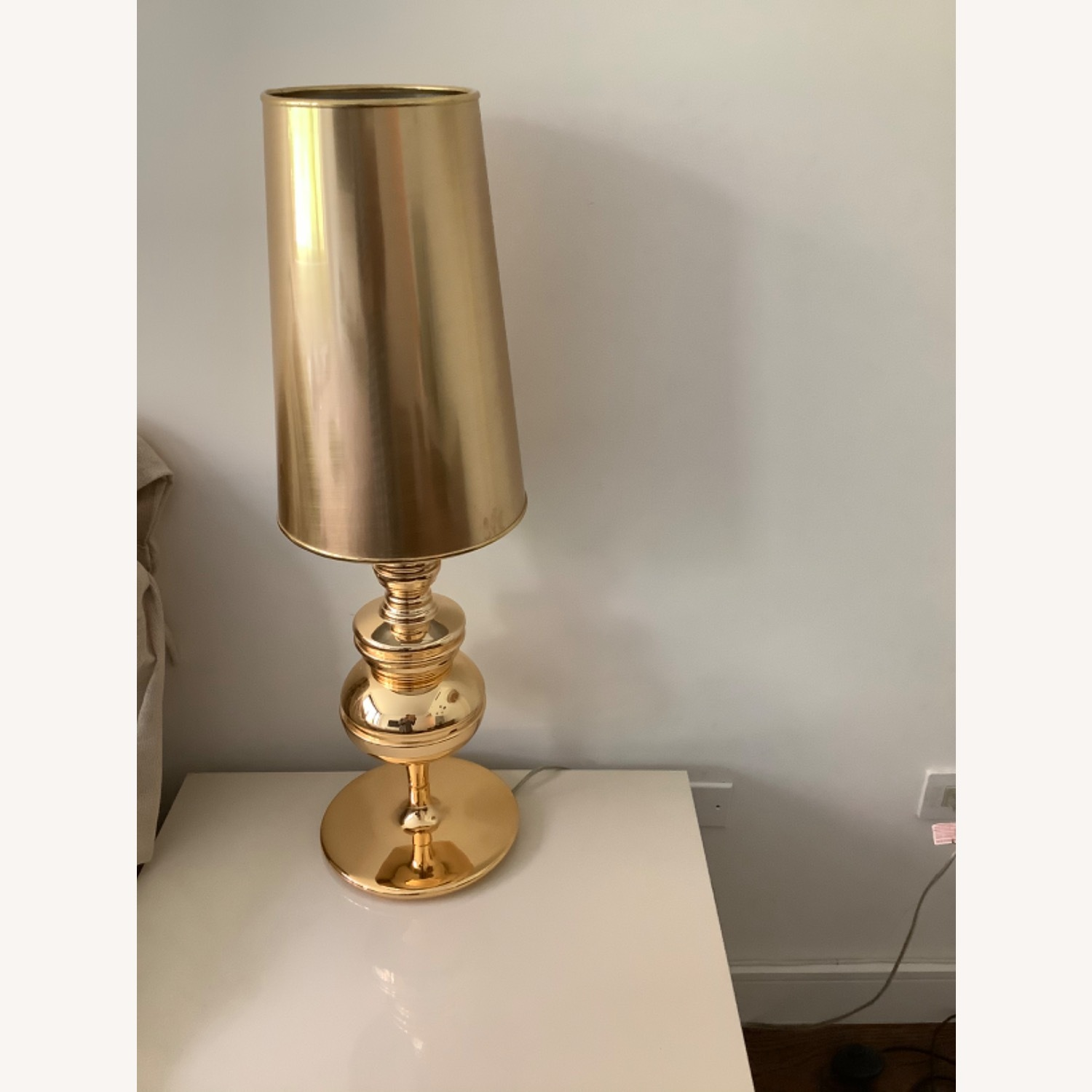 ABC Carpet and Home Gold Table Lamps - image-1