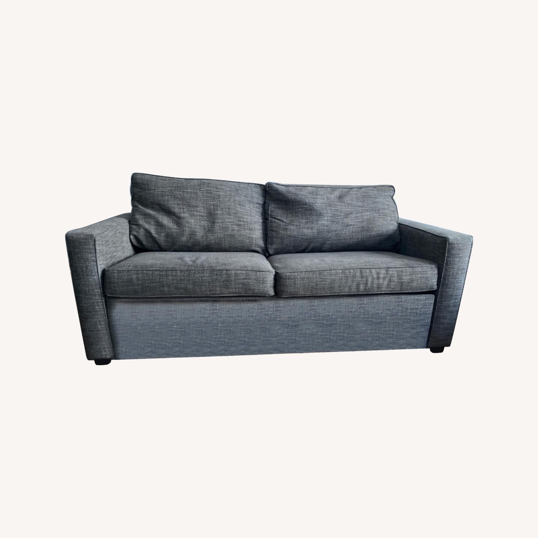 West Elm Grey Deluxe Henry Sleep Sofa - image-0