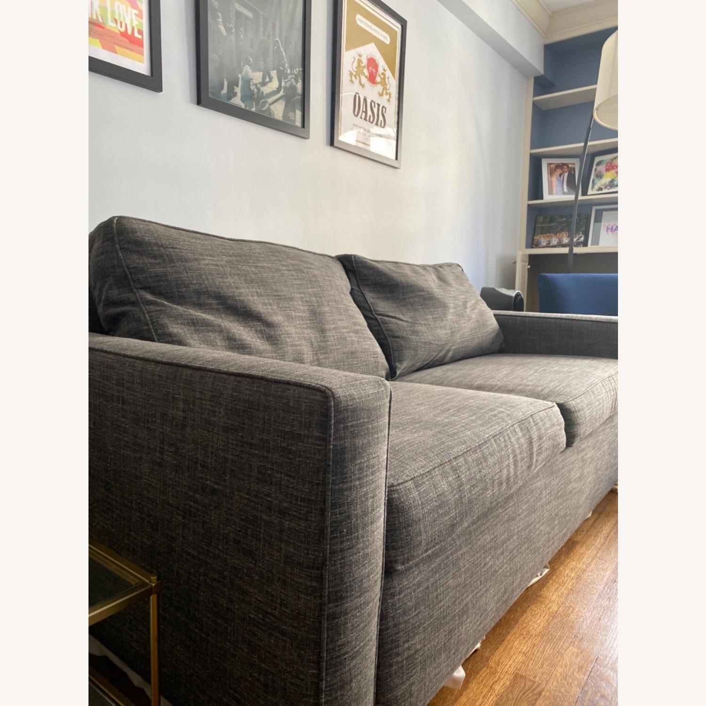 West Elm Grey Deluxe Henry Sleep Sofa - image-1