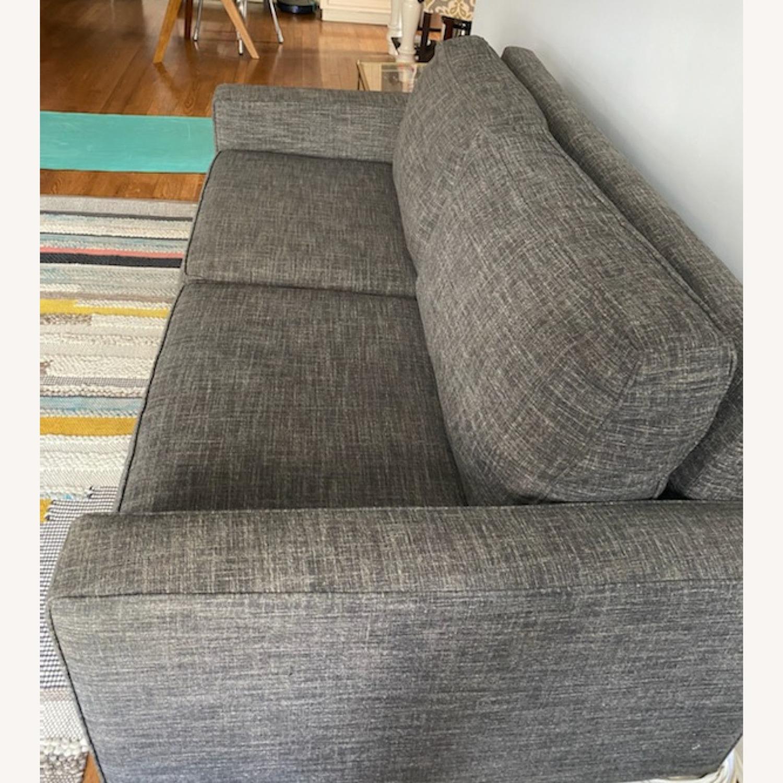 West Elm Grey Deluxe Henry Sleep Sofa - image-5