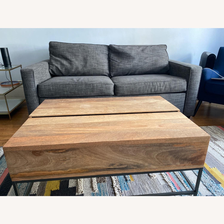 West Elm Grey Deluxe Henry Sleep Sofa - image-3