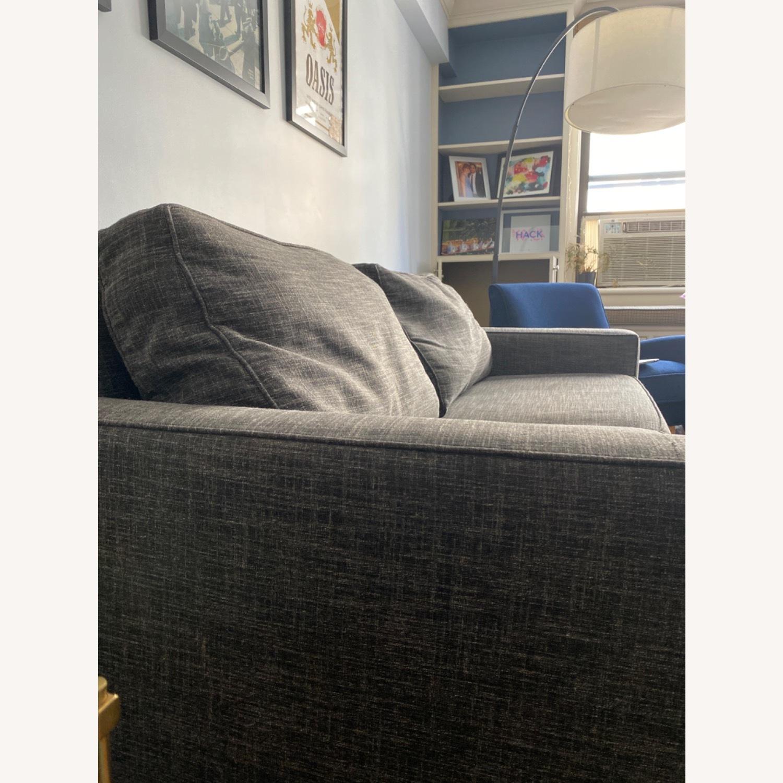 West Elm Grey Deluxe Henry Sleep Sofa - image-2