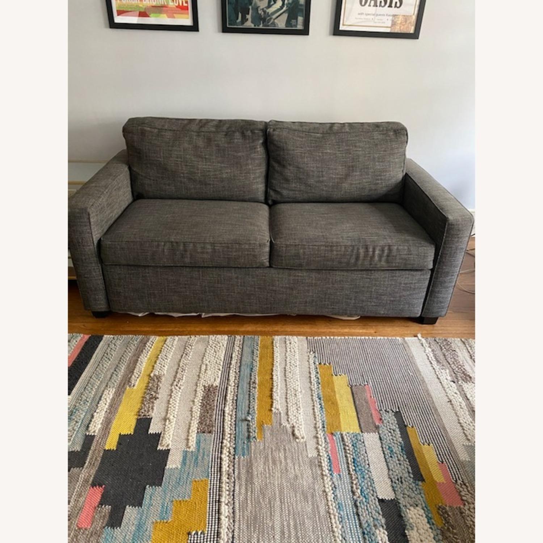West Elm Grey Deluxe Henry Sleep Sofa - image-6