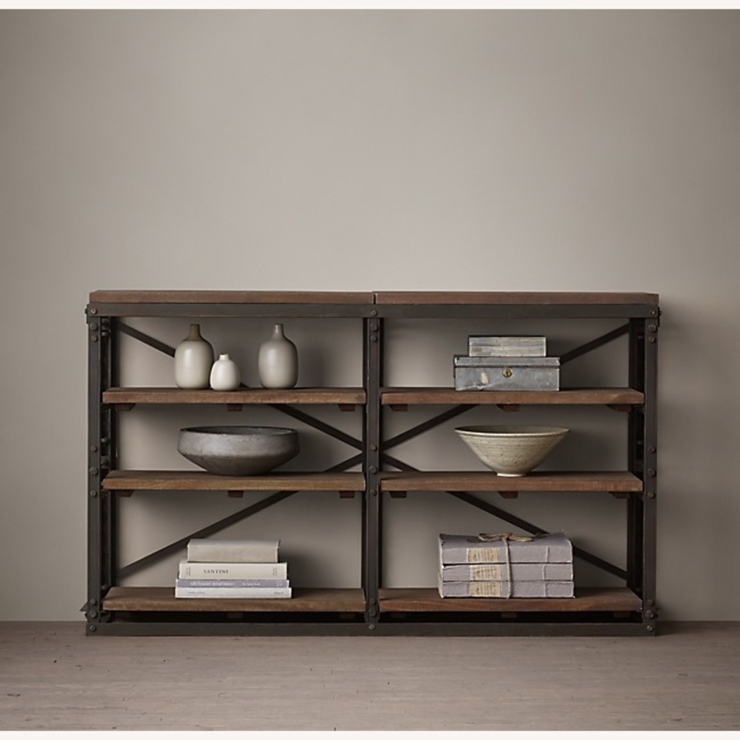 Restoration Hardware French Library Console Tables - image-3