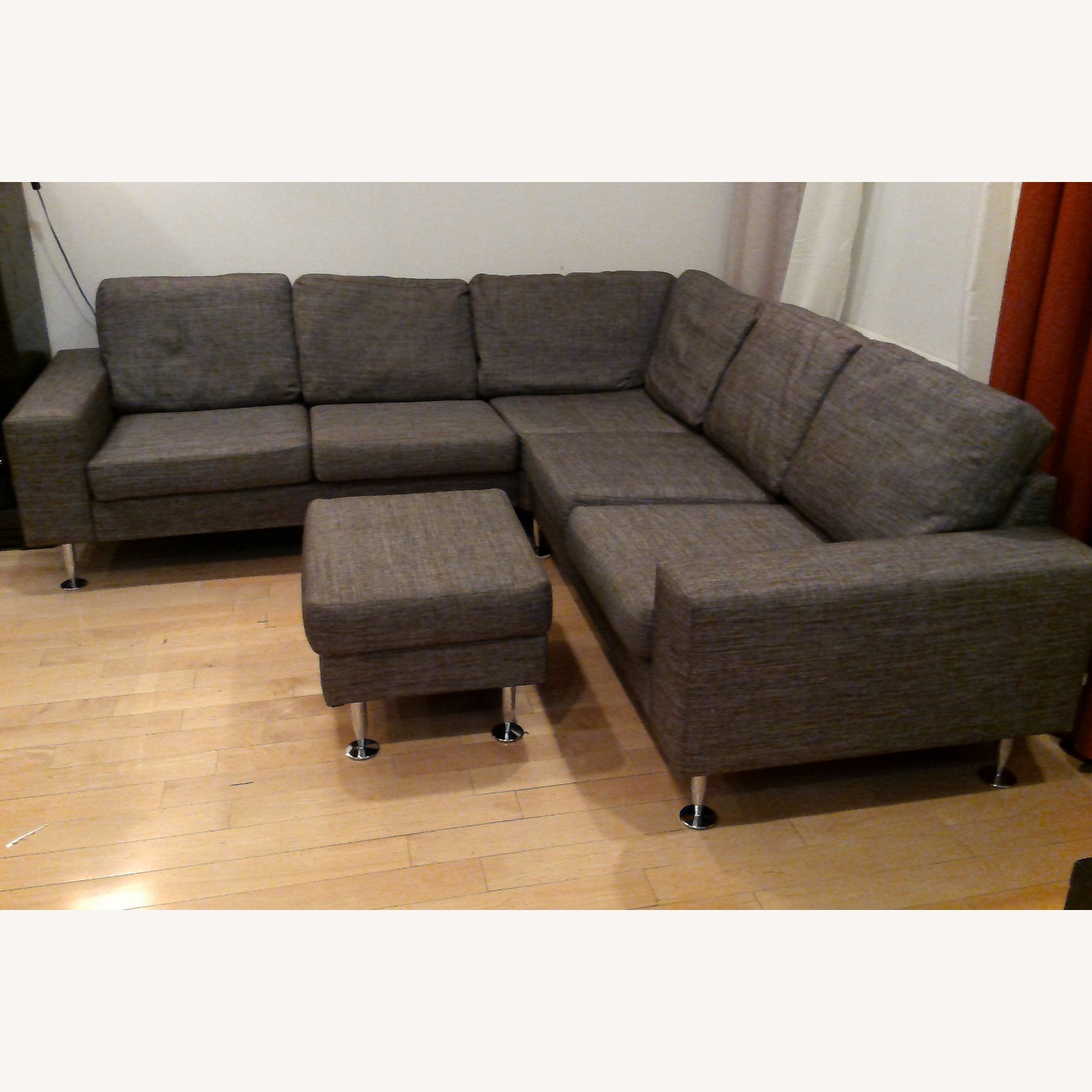 BoConcept 3 Piece Sectional Sofa with Ottoman - image-13
