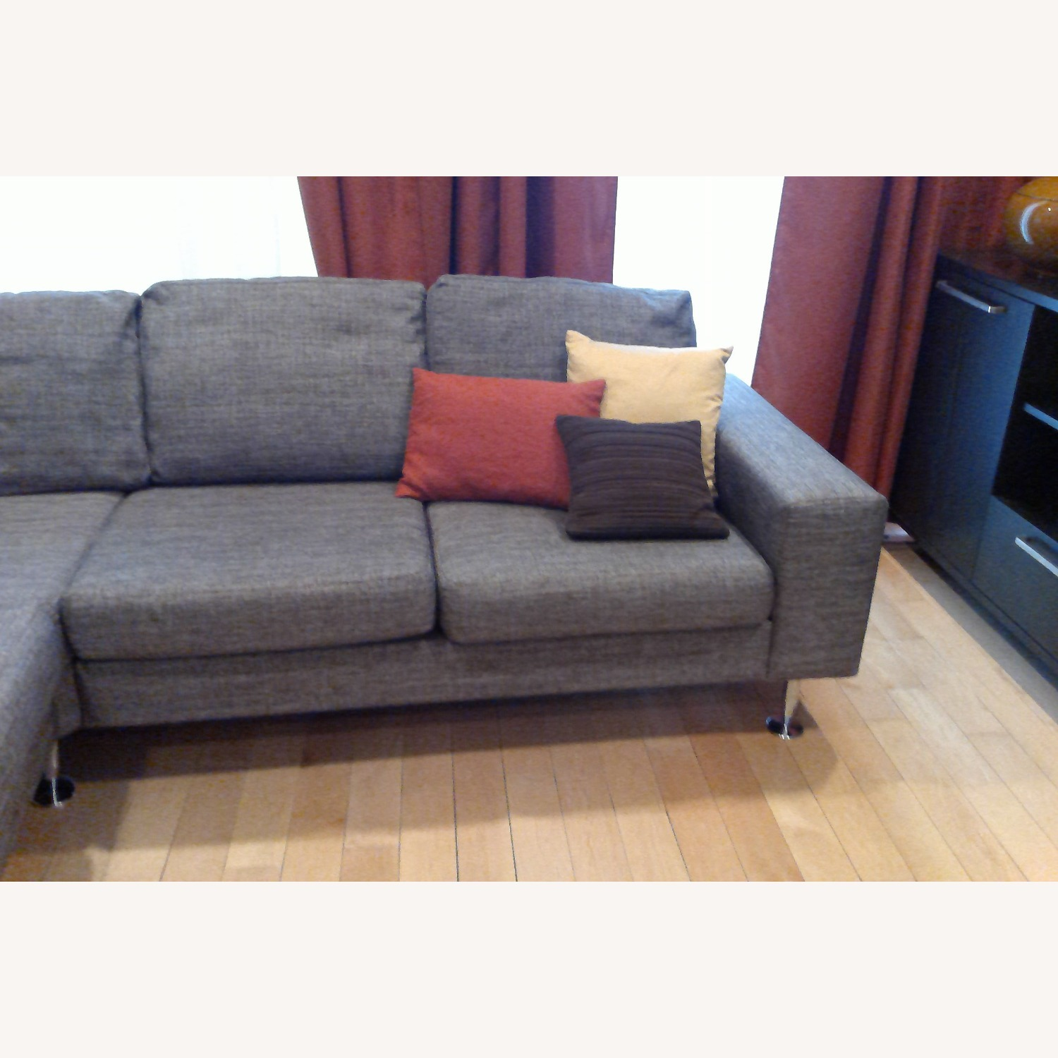 BoConcept 3 Piece Sectional Sofa with Ottoman - image-12