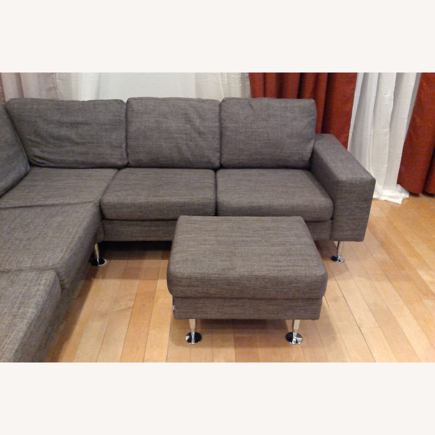 BoConcept 3 Piece Sectional Sofa with Ottoman - image-17