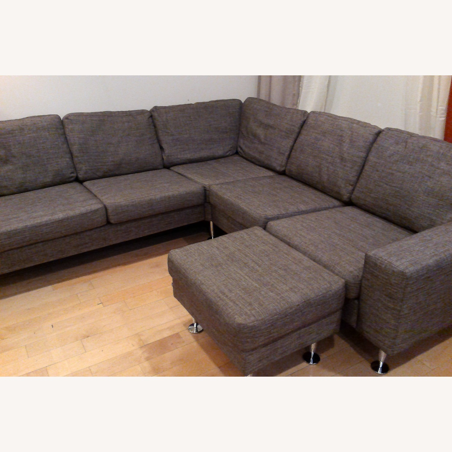 BoConcept 3 Piece Sectional Sofa with Ottoman - image-15