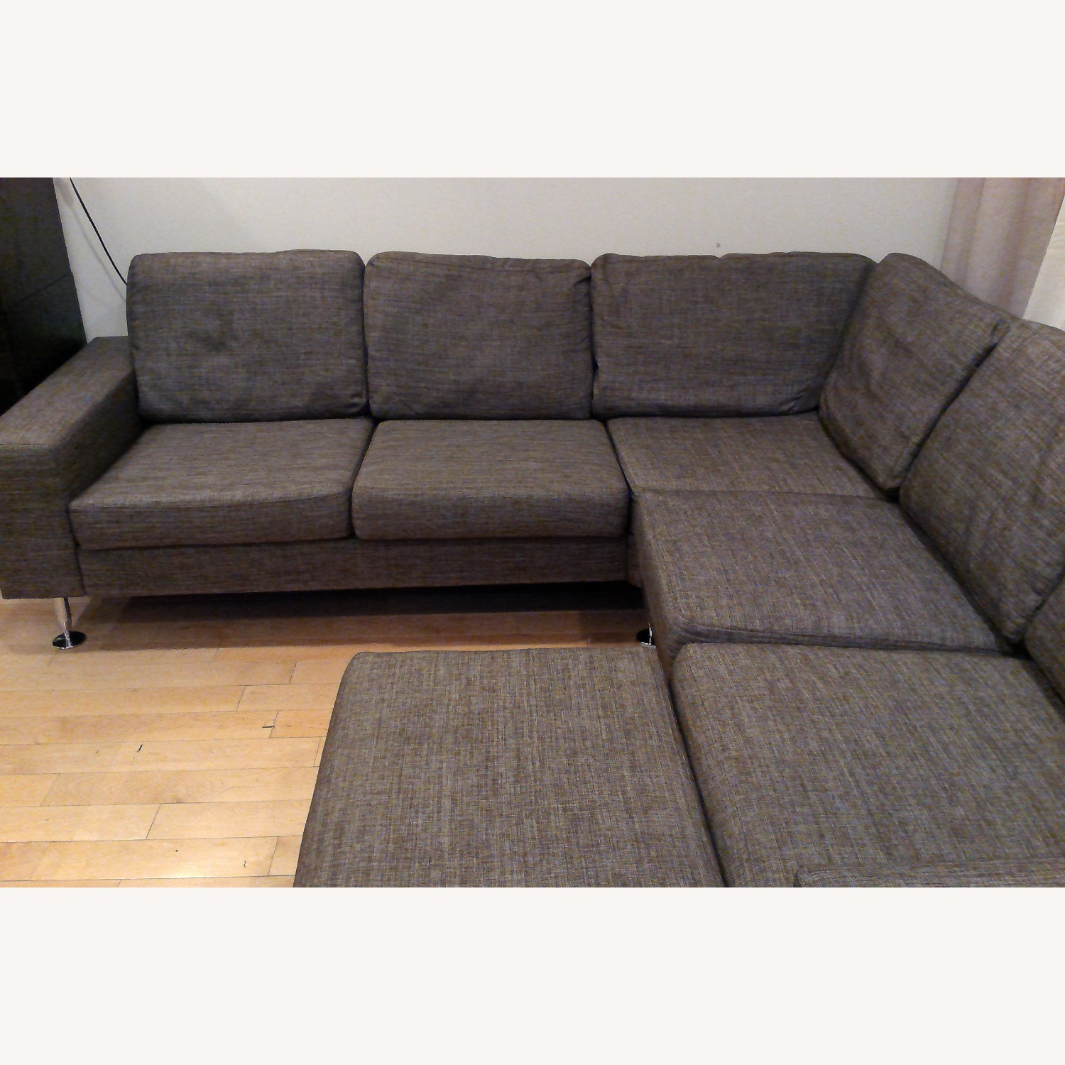 BoConcept 3 Piece Sectional Sofa with Ottoman - image-16