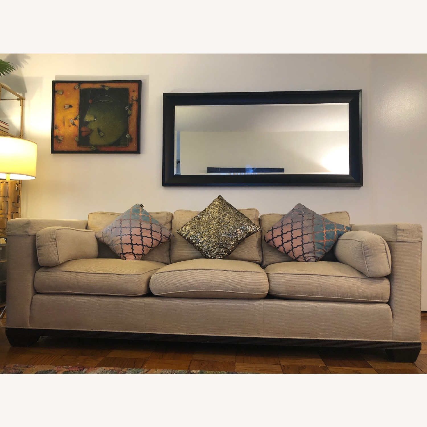 Baker Barabara Barry Reided Base Sofa - image-0