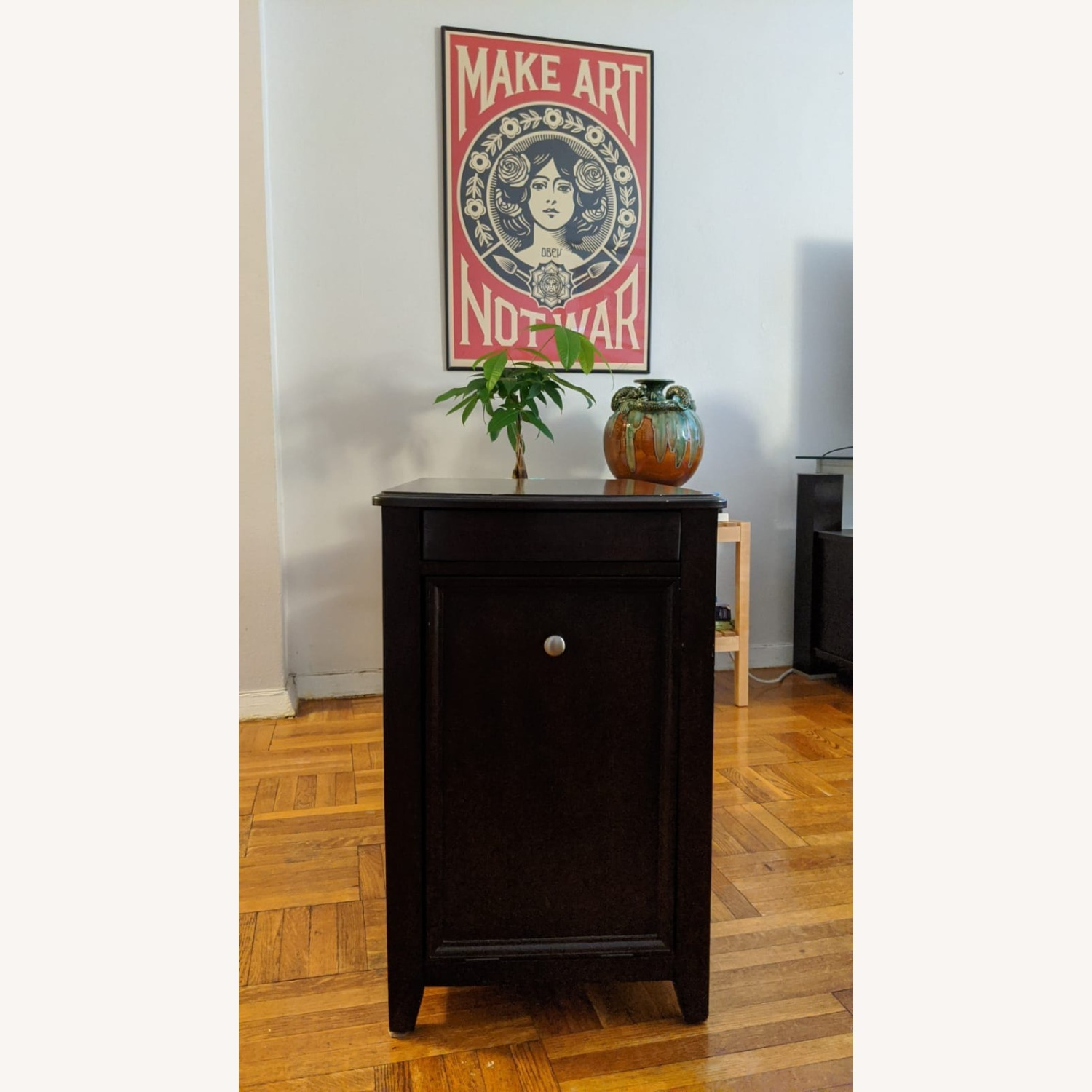 Side Table with Storage Space - image-5