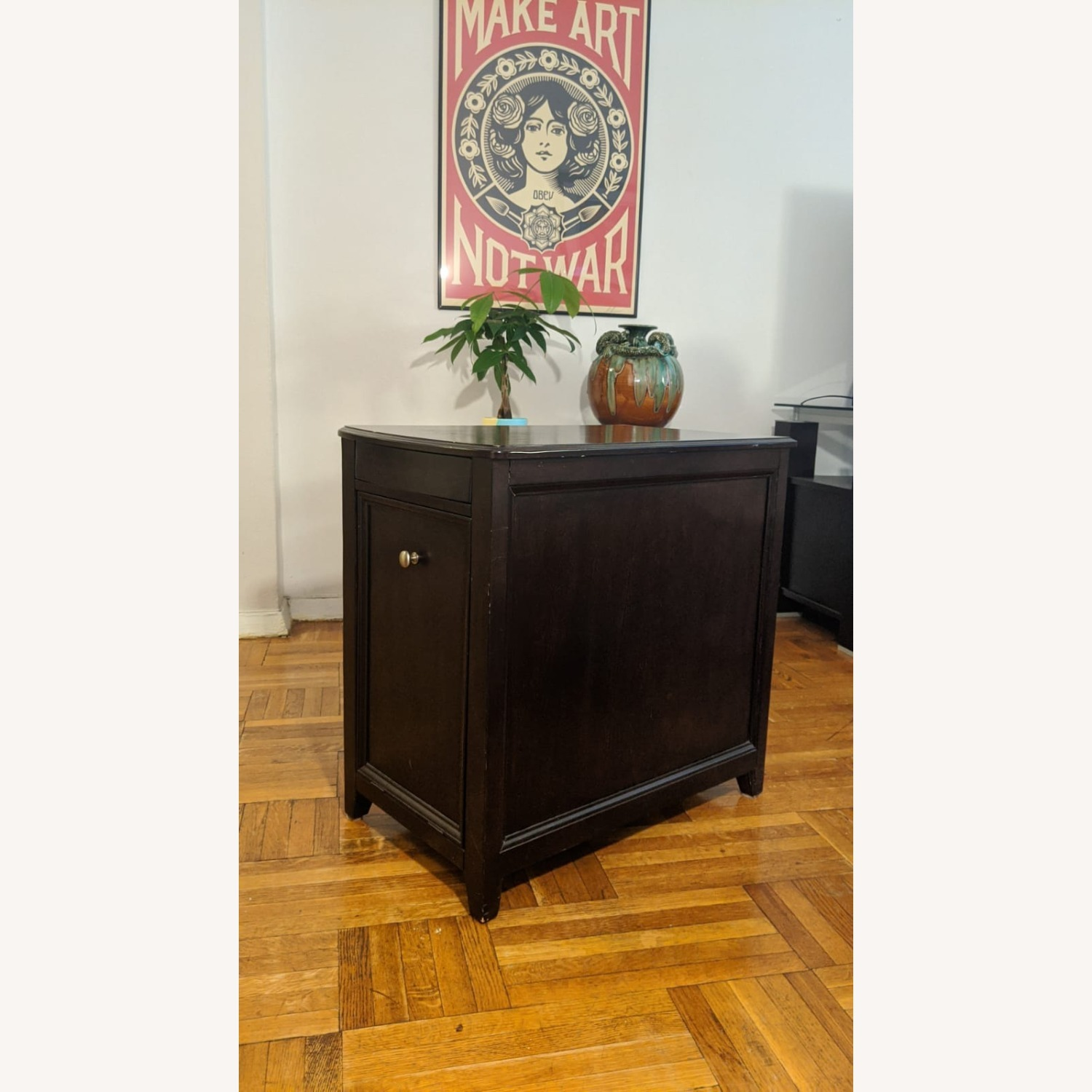Side Table with Storage Space - image-1