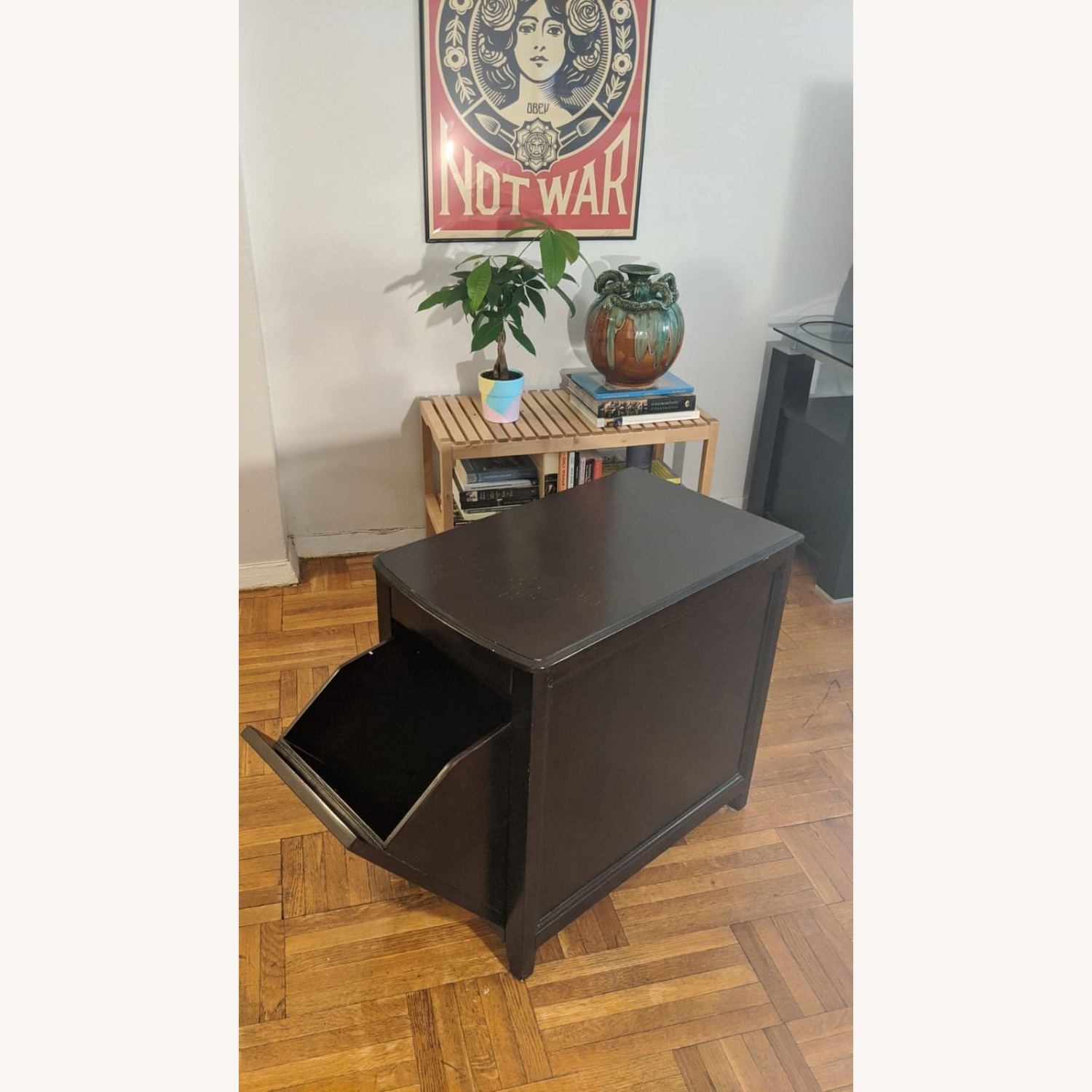 Side Table with Storage Space - image-2