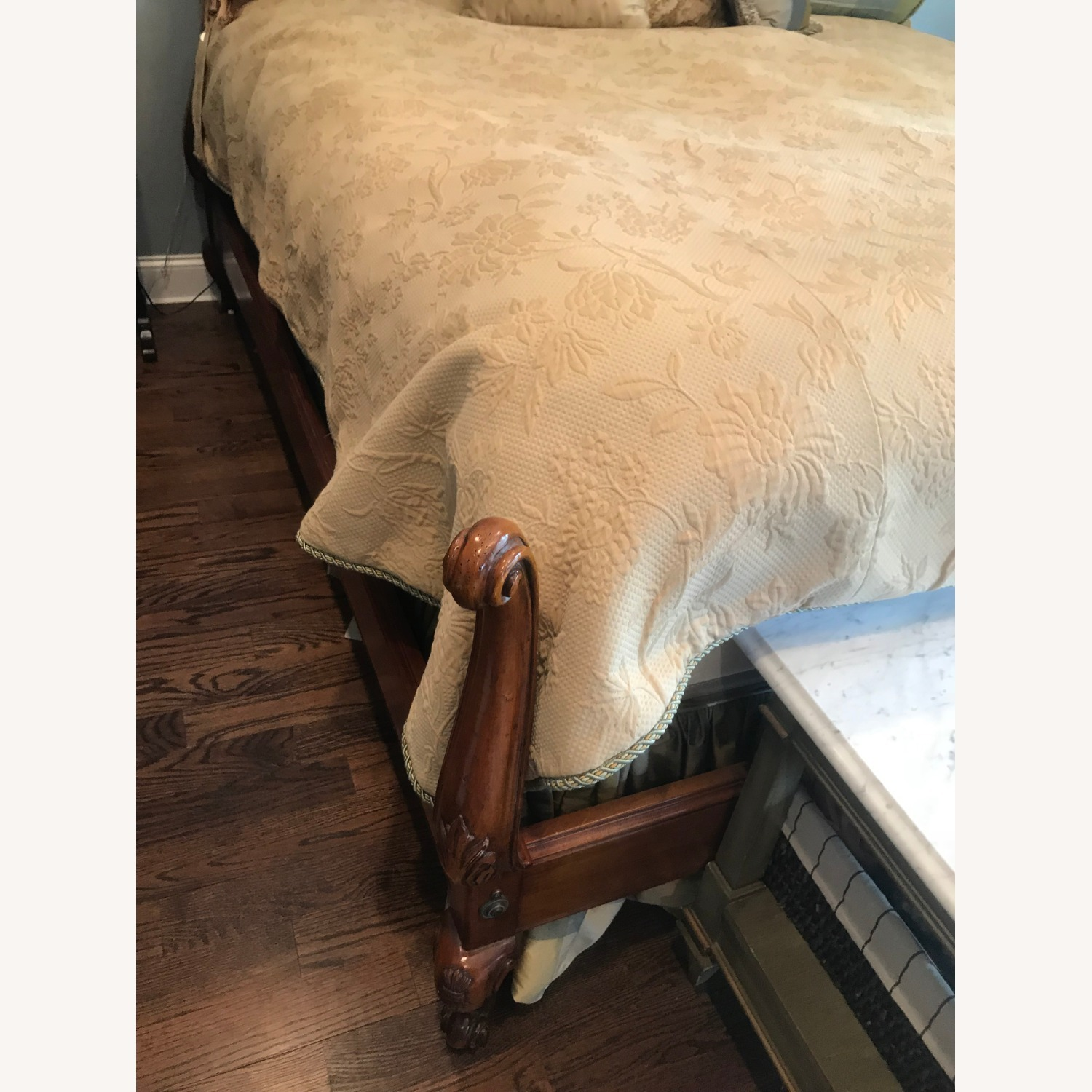 French Country style King Size Bed - image-2