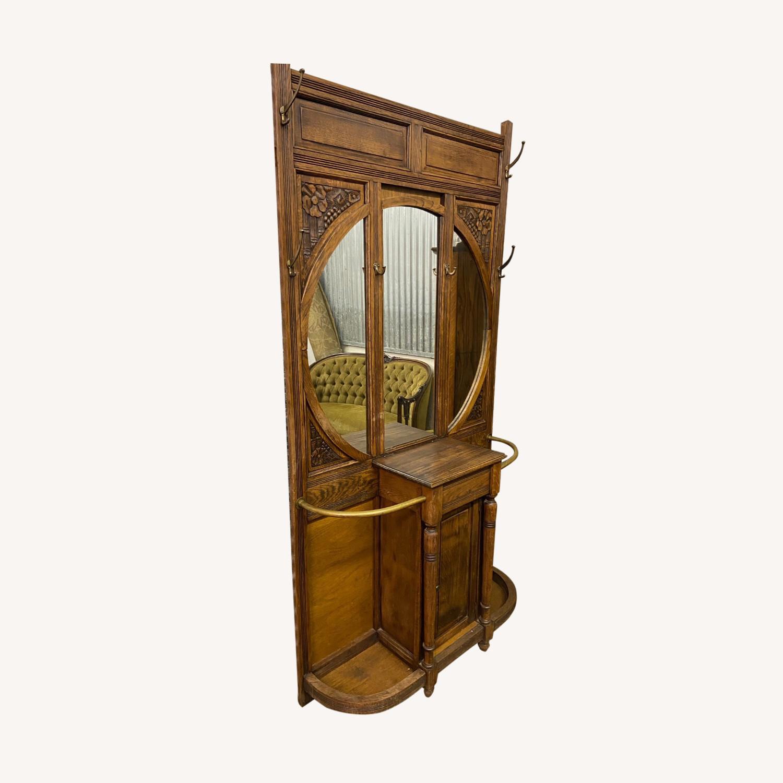 Antique Hall rack - image-0