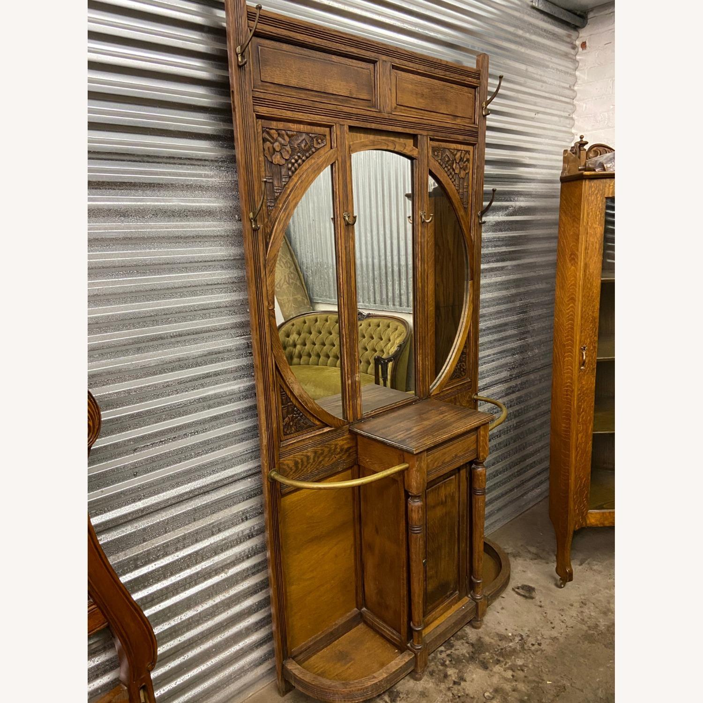 Antique Hall rack - image-1