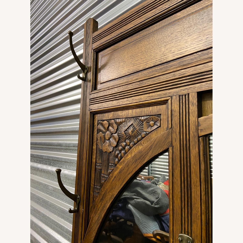 Antique Hall rack - image-3