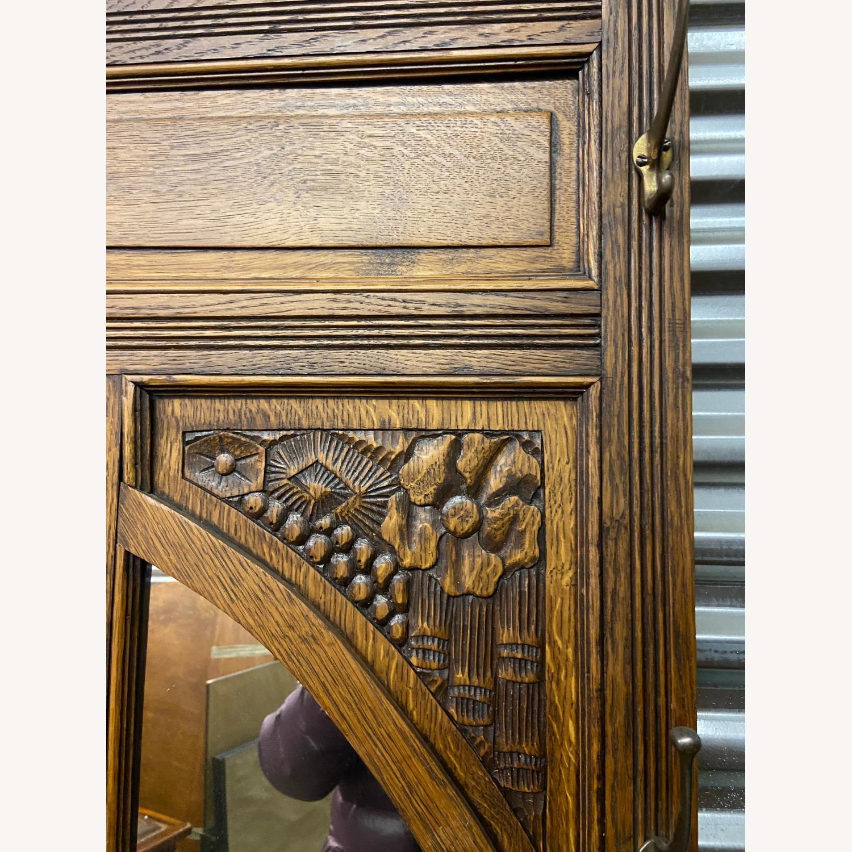 Antique Hall rack - image-2