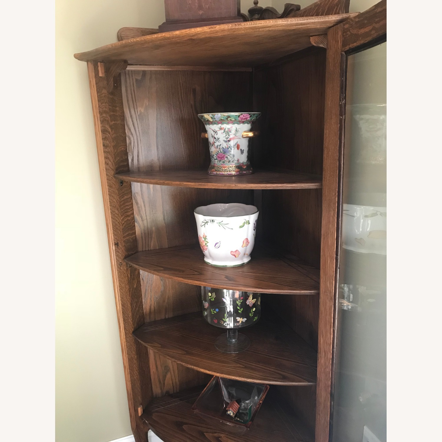Antique Corner Cabinet - image-3