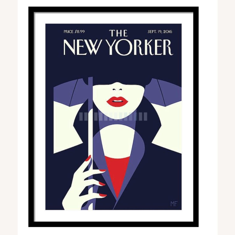 New Yorker Framed Print - image-0