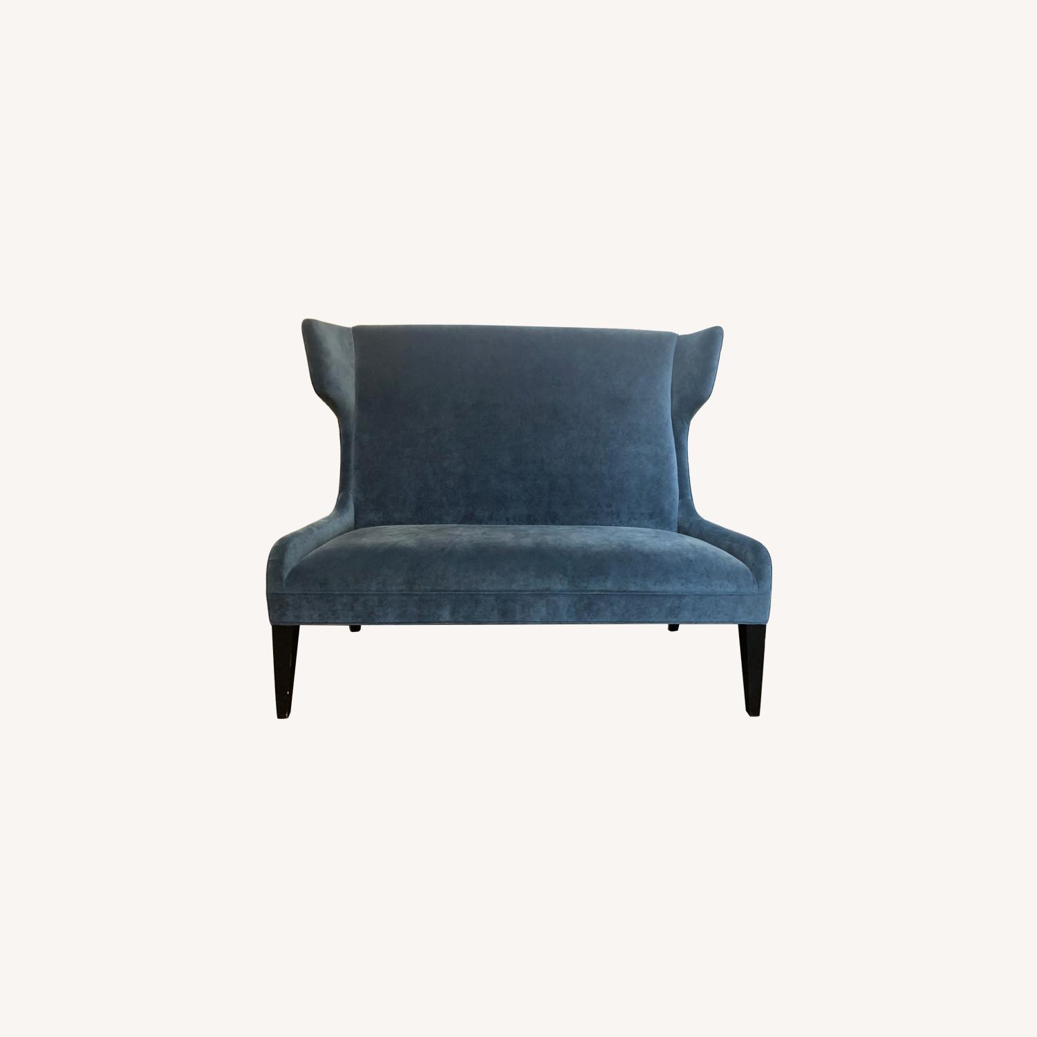 Mitchell Gold & Bob Williams Blue Loveseat - image-0