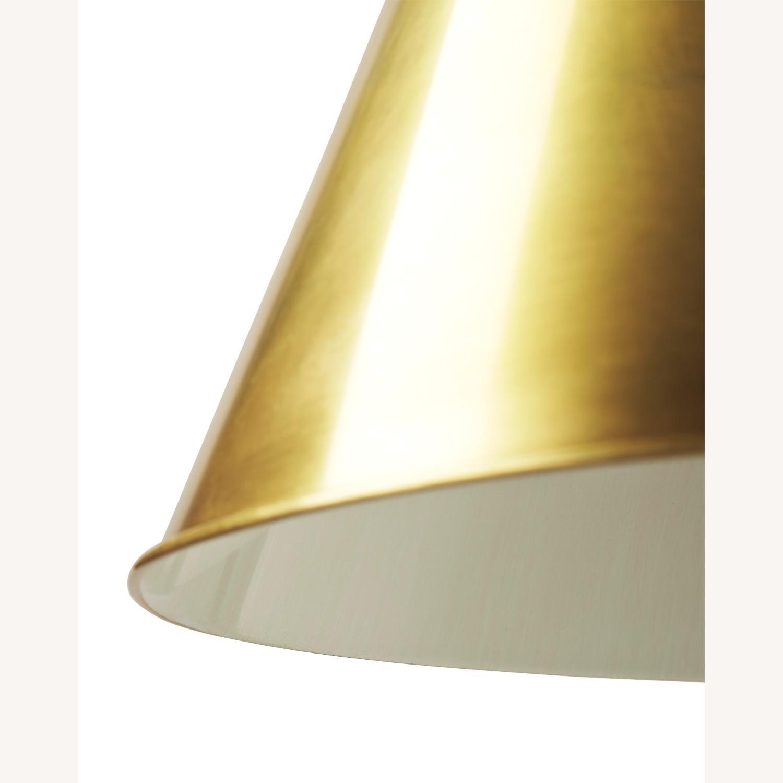 Visual Comfort Goodman Large Brass Pendant - image-2